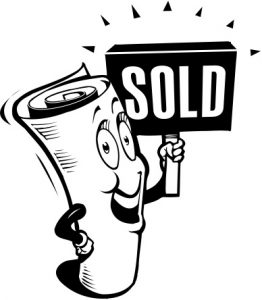 Newspaper Sold